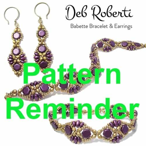 Deb Robertis Babette Bracelet Amp Earrings Pattern Reminder