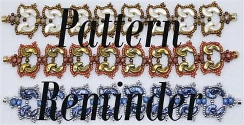 Ellad2s Tulip Bracelet Pattern Reminder