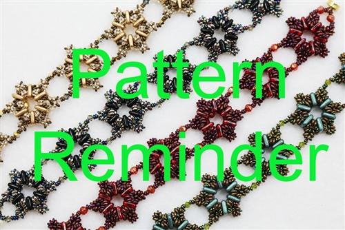 Starman Lenoras Bracelet Pattern Reminder