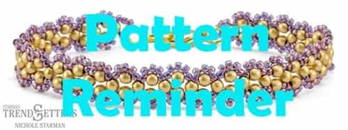 Starman Ringlet Bracelet Pattern Reminder