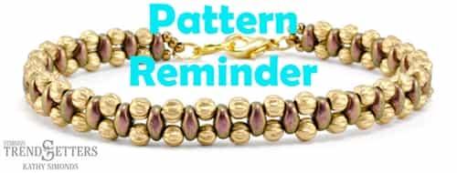 Starman Steppin Out Bracelet Pattern Reminder