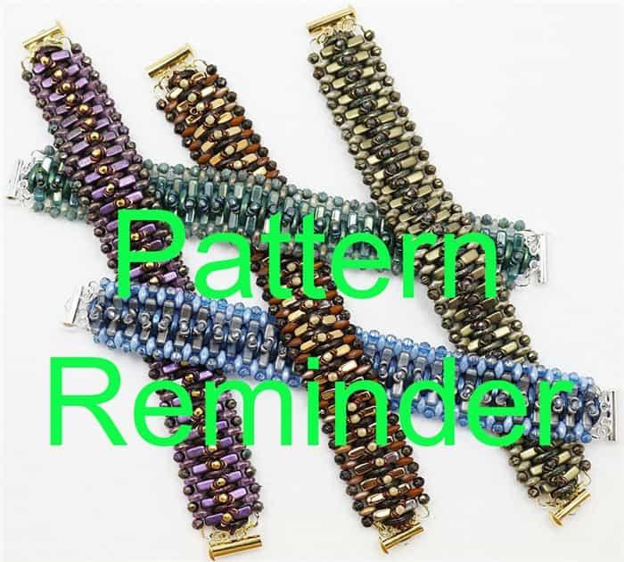 Starman Step It Up Bracelet Pattern Reminder