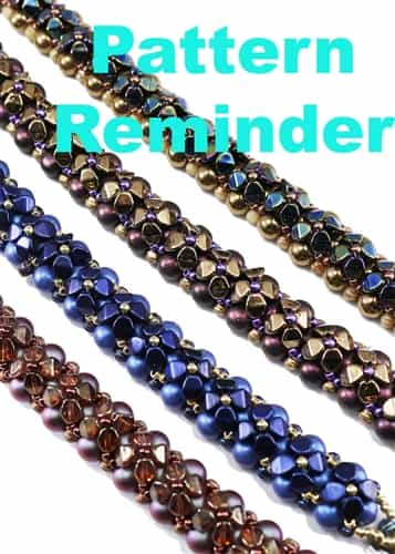 Starman Sweet Alyssum Bracelet Pattern Reminder