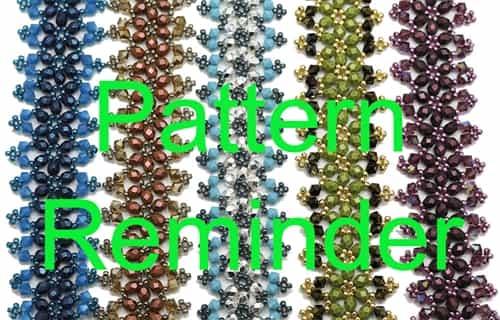 Deb Robertis Victorian Bracelet Amp Earrings Pattern Reminder