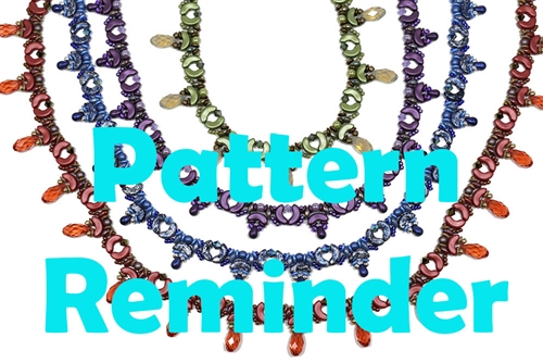 BeadSmith Exclusive Bead Riss Necklace Pattern Reminder